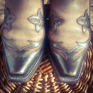 Ariat Cowboy Boots, square toe