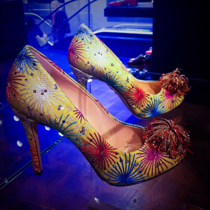 Charlotte Olympia Firework pumps by Accessorize All Areas