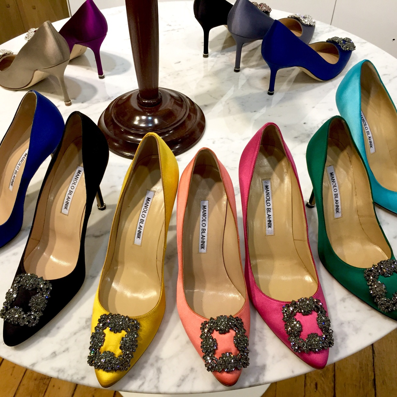 Rainbow Hangisi pumps by Accessorize All Areas